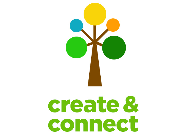 create and connect visual identity